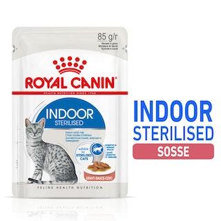 Indoor Sterilised Morsels in Gravy