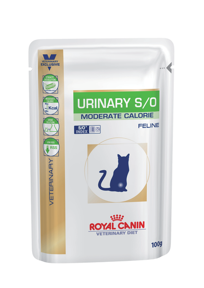 FELINE - URINARY S/O Moderate Calorie - WET - Packaging graphical codes - POUCH-C-URI-MC-PACKSHOT
