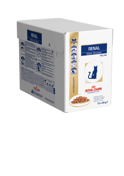 RENAL feline CHICKEN CIG BOX