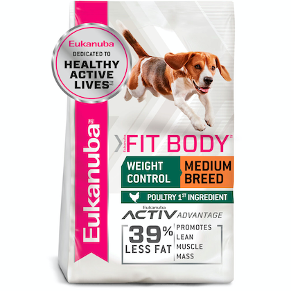 Eukanuba™ Adult Fit body Medium Breed Dry Dog Food