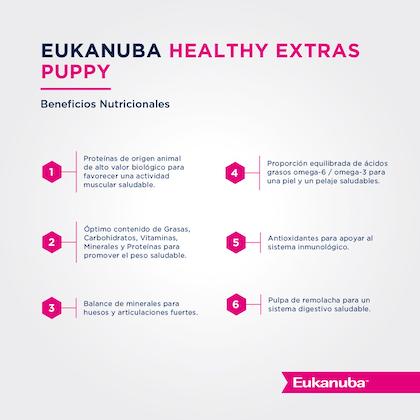 Eukanuba Healthy Extras Puppy Growth - Cachorro