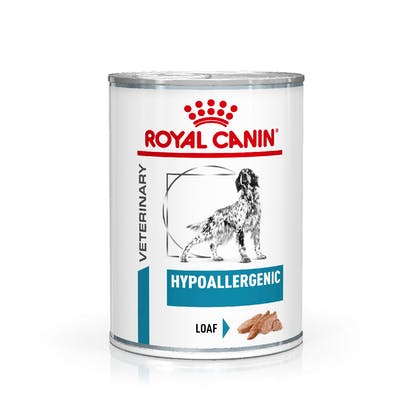 VHN-eRetail Full Kit-Hero-Images-Dermatology Hypoallergenic 400g Loaf Dog Wet-B1
