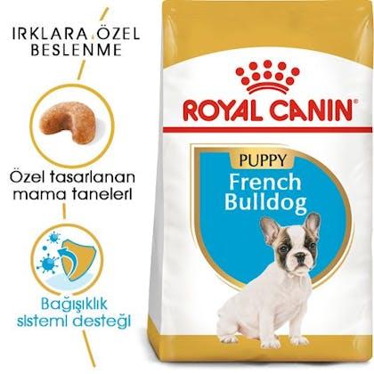 Royal Canin French Bulldog Puppy Yavru Köpek Maması 7