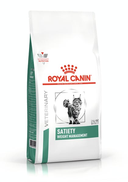 VHN-WEIGHT MANAGEMENT-SATIETY CAT DRY- PACKSHOT